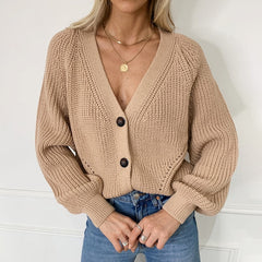 Knitted Cardigans Sweater