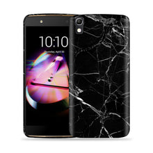 Load image into Gallery viewer, Black Marble Design Phone Case
