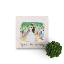 Load image into Gallery viewer, Custom Wedding Wood Print.