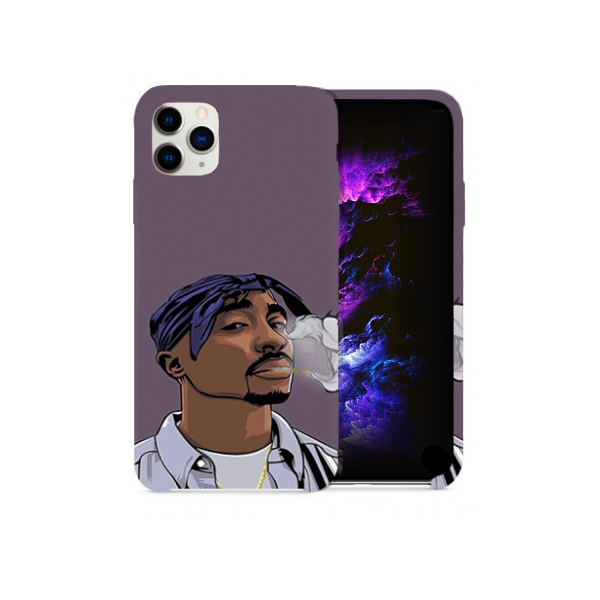 Tupac Cartoon Design Phone Case