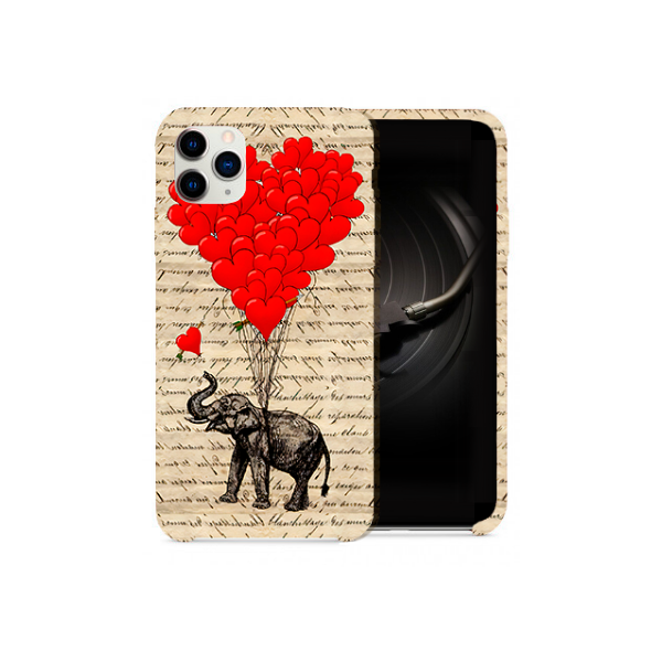Elephant Love Design Phone Case