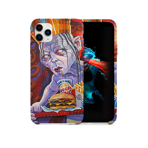 Lord Of The Onion Rings 'Fan Art' Phone Case.
