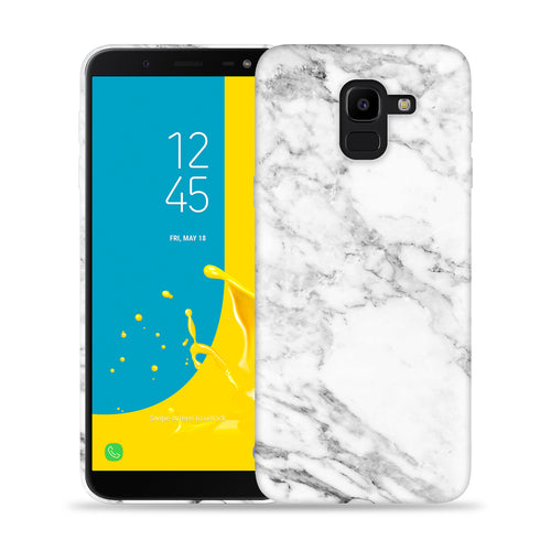 White Marble Design Phone Case
