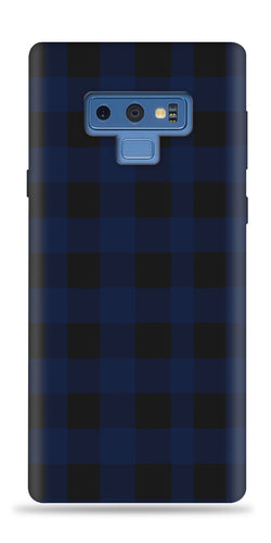 Plaid Blue Design Phone Case