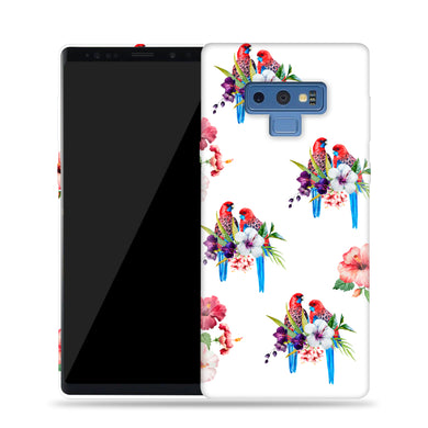 Birds With Flowers Design Phone Case