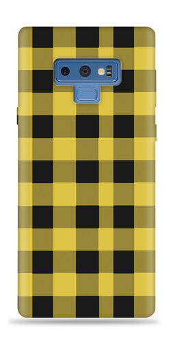 Plaid Yellow Design Phone Case