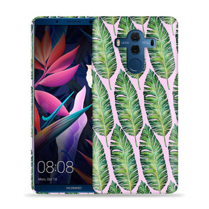 Leaves On Pink Design Phone Case