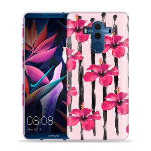Flowers On Pink Design Phone Case