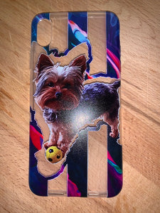 Custom Illustrated Pet Phone Case