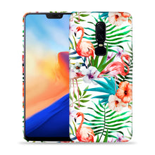 Load image into Gallery viewer, Flamingos With Leaves Design Phone Case