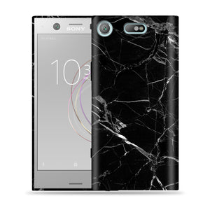 Black Marble Design Phone Case