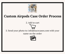 Load image into Gallery viewer, Apple AirPods and AirPods PRO Custom Cases.