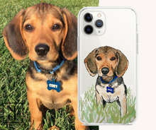 Load image into Gallery viewer, Custom Illustrated Pet Phone Case