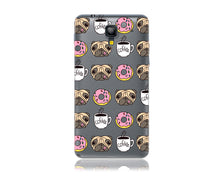 Load image into Gallery viewer, Pugs Donuts and Coffee Design Phone Case
