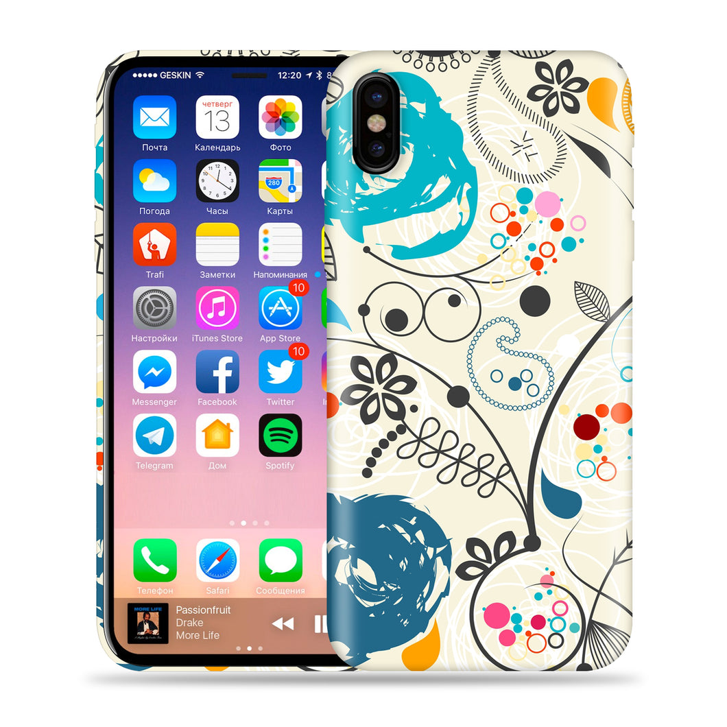 Paisley Artwork Design Phone Case