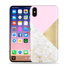 Load image into Gallery viewer, Revolucion, Marble, Pink, Gold Design Phone Case