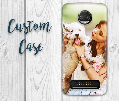 Motorola Z4 Play / Moto Z3 Play / Moto Z2 Play / Moto Z Play Cases #Custom Photo Case, Design Your Own Personalized Case, Monogrammed Phone!