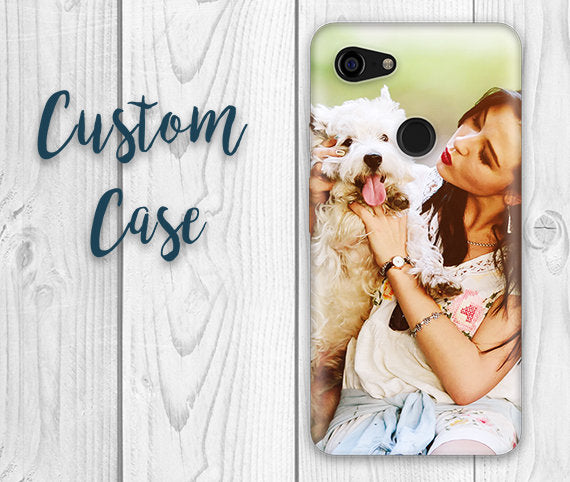 For Google Pixel 3, Pixel 3a, Pixel 3XL, Pixel 3a XL Models.  #Custom Photo Case, Design Your Own Personalized Case, Monogrammed Phone,