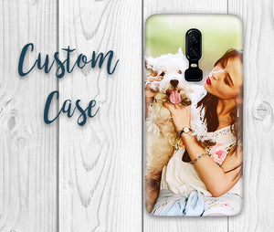 For All OnePlus Cases /One Plus 5 / 5t / 6 / 6t / 7 / 7 PRO #Custom Photo Case, Design Your Own Personalized Case, Monogrammed Phone!