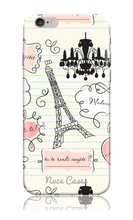 Load image into Gallery viewer, From Paris with Love- Eiffel Tower Design Phone Case