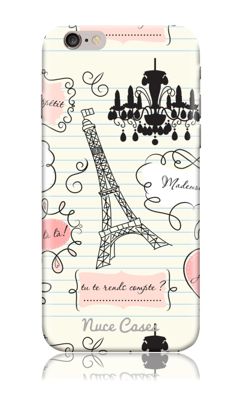 From Paris with Love- Eiffel Tower Design Phone Case