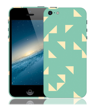 Load image into Gallery viewer, Minty Maze Design Phone Case