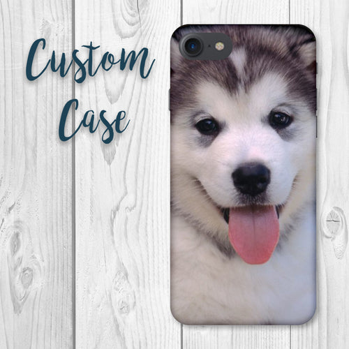 Custom iPhone X Case Heavy Duty 2 in 1 TPU + Hard Case - iPhone 7.