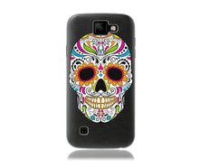 Load image into Gallery viewer, La Muerte Skull Design Phone Case