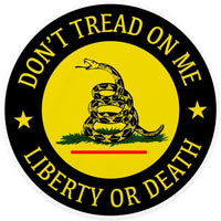 Don't Tread On Me Decal Sticker Laptop Car Window Stickers Gadsden Flag 2nd Guns