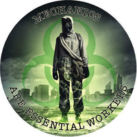MECHANICS are Essential Workers 2020 Decal, sicker 5yr