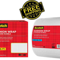 New Scotch Cushion Wrap - 240 sq. ft. roll  Free US Shipping Scotch Cushion Wrap