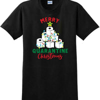 2020 Christmas Quarantine Toilet Paper Tree Xmas shirt-1