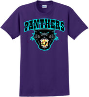 L.P.S.A. Panther logo tee - Purple