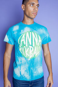Canna Kickball Acid Washed T Shirt