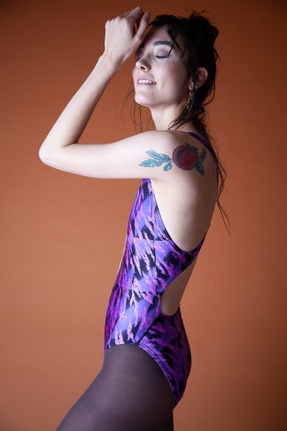 Vintage One-Piece Bathing Suit
