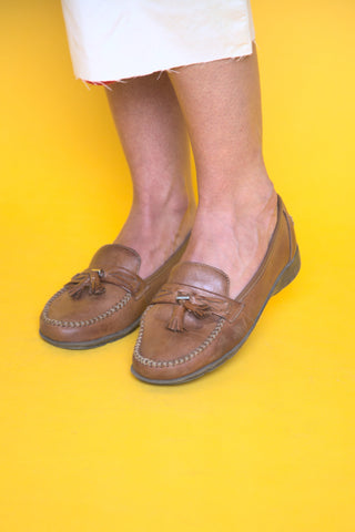 Decorative Leather Loafers