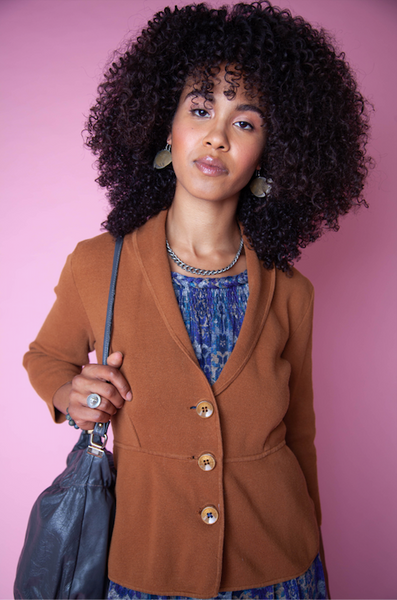 Brown Cozy Blazer