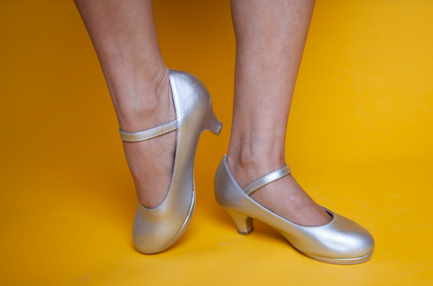 Darling Silver Shoes