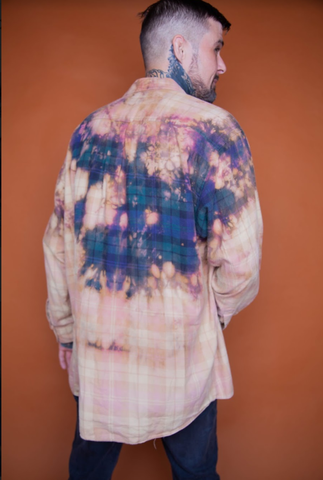Tie-Dyed Flannel