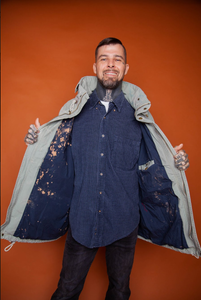 Splattered Rain Jacket