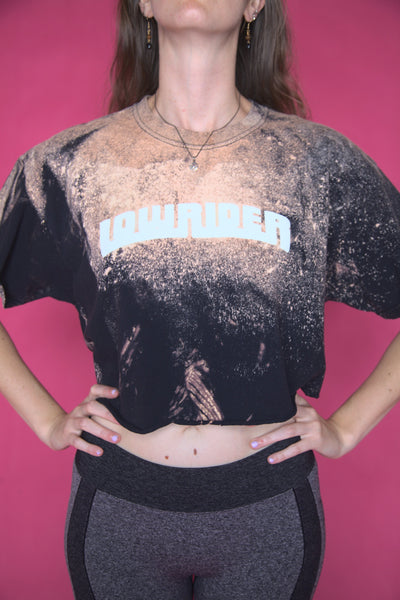 Acid Wash LowRider Crop Top