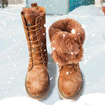 Genuine Leather Snow Boot