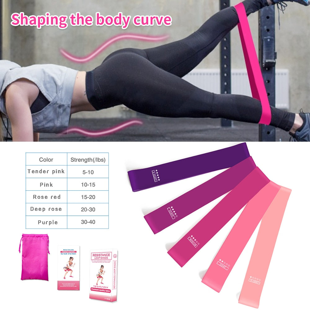 Workout Resistance Band (5pcs)