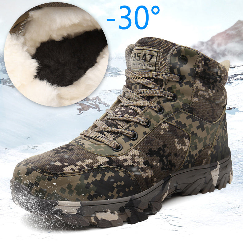 Camouflage Warm Tactical Military Boots