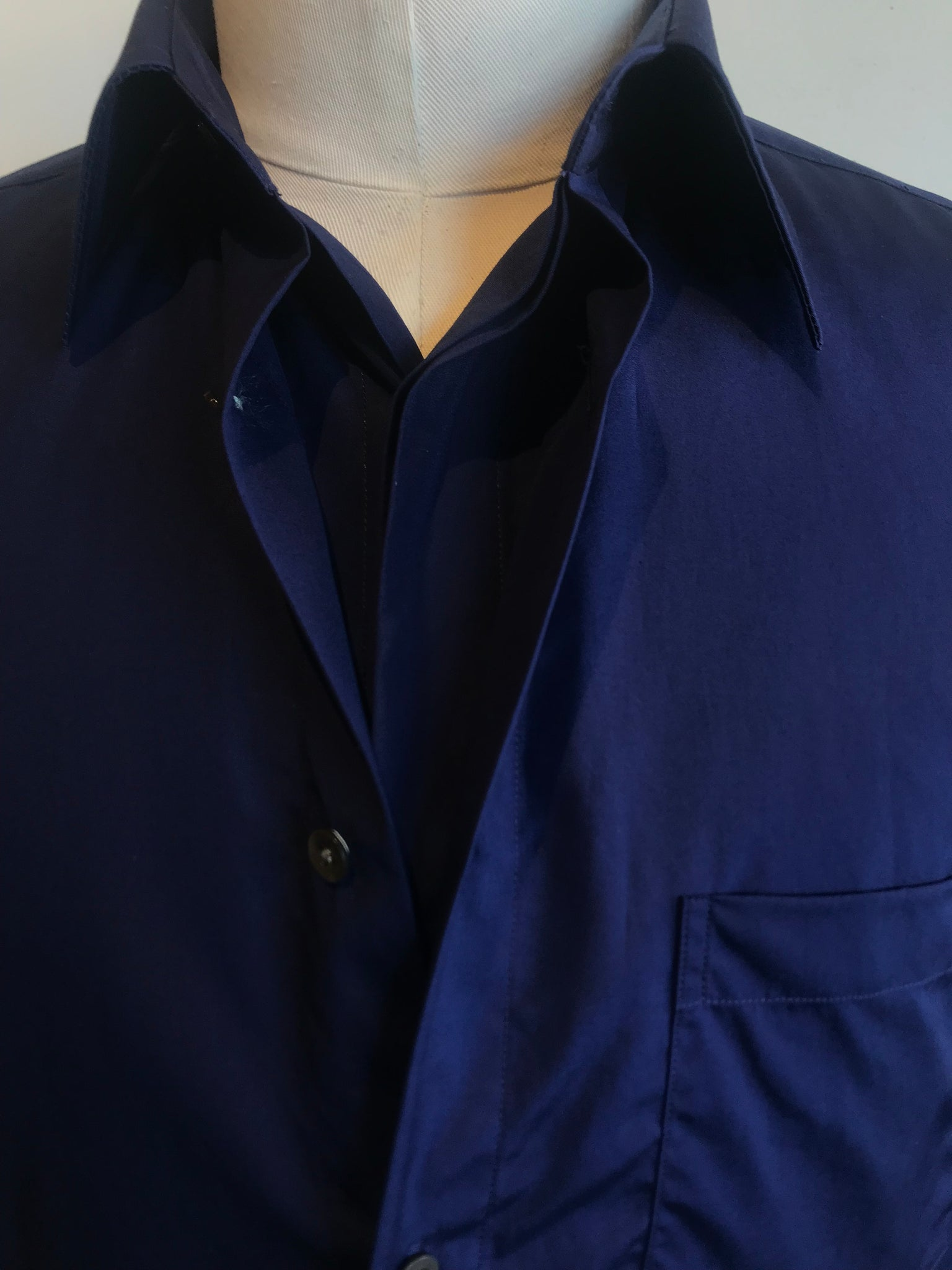 Double-Layered Button-Down