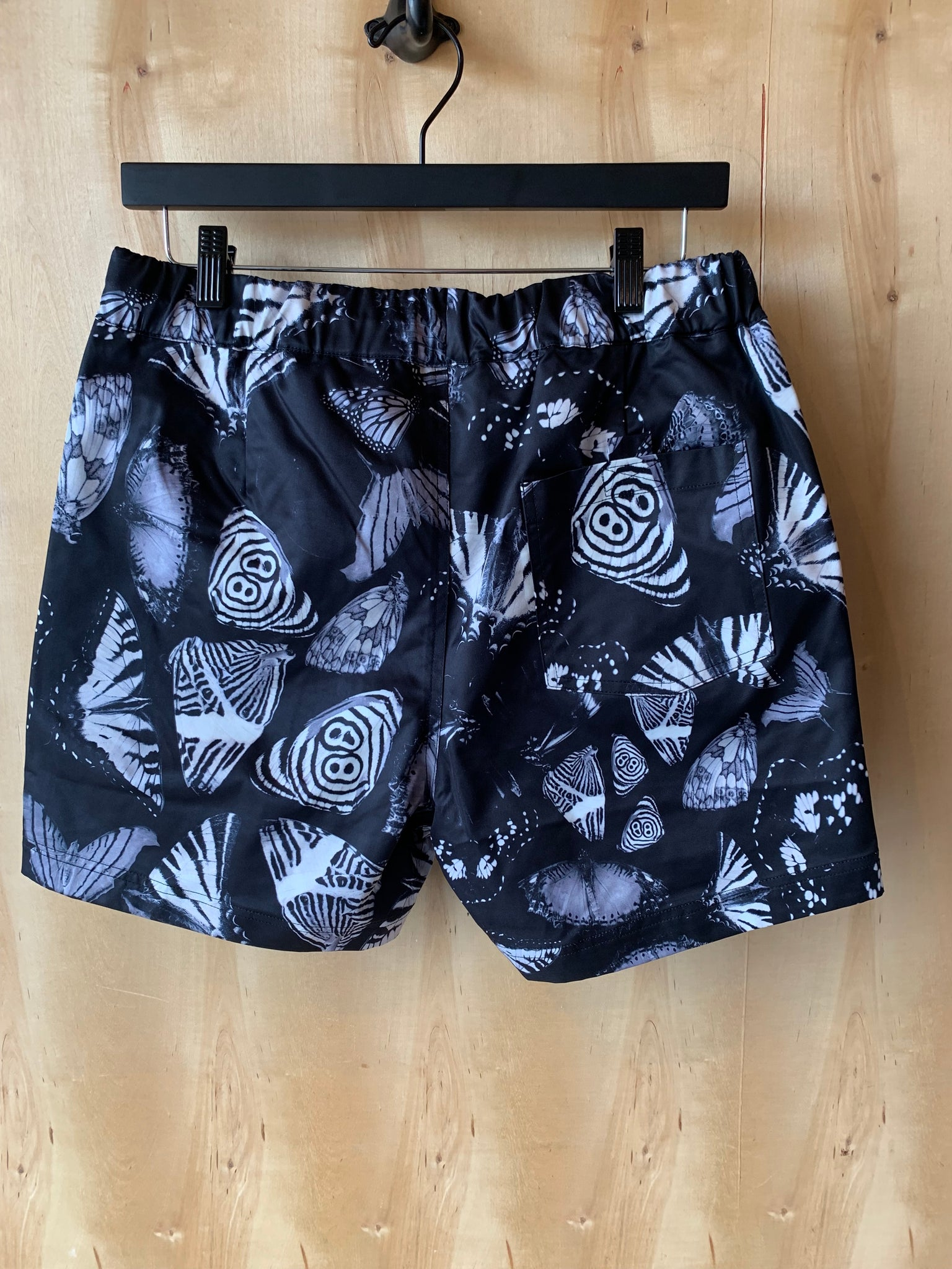 Butterfly Shorts Black