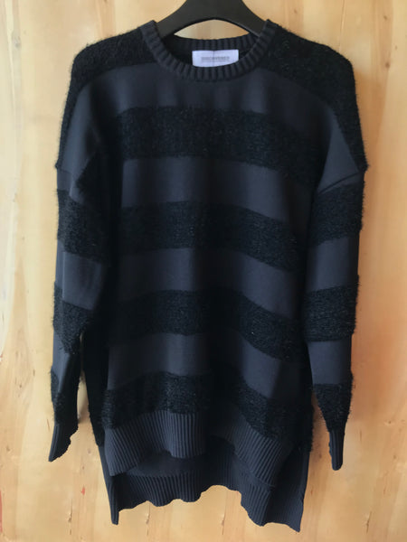 Border knit Black