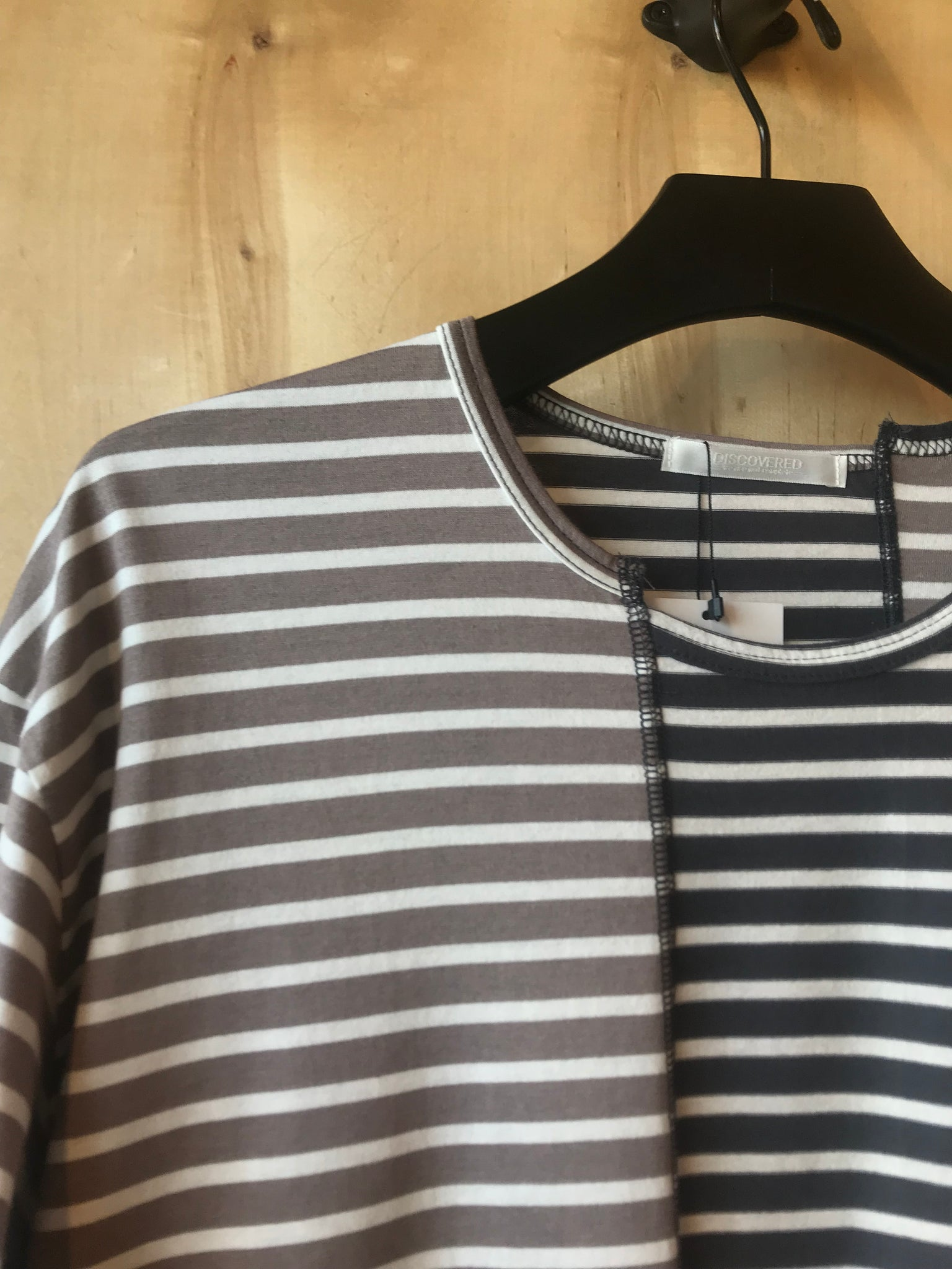 Striped Reconstructed Tee