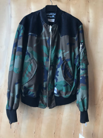 Camo Cotton Bomber