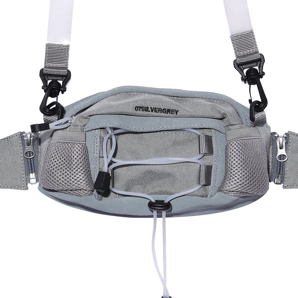 Fanny Pack Silver Grey